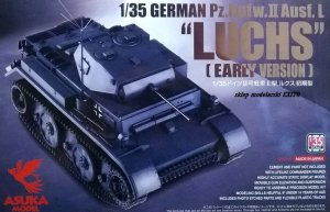 ASUKA (TASCA) 35033 - 1:35 German Pz.Kpfw.II Ausf.L Luchs Early Version