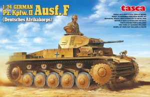 ASUKA (TASCA) 24002 - 1:24 German Panzer II Type F North African Campaign