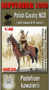 TORO MODEL 48F29 - 1:48 September 1939 Polish Cavalry NCO