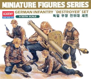 ACADEMY 13252 - 1:35 German infantry figures