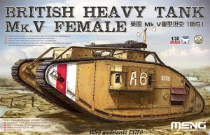 MENG MODEL TS029 - 1:35 British Heavy Tank Mk.V Female