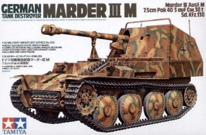 TAMIYA 35255 - 1:35 Marder III M - German Tank Destroyer