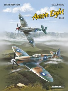 EDUARD 1188 - 1:48 Aussie Eight / Spitfire Mk.VIII Australian service - Dual Combo Limited Edition