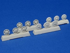 PANZERART 35125 - 1:35 Steel return rollers for StuG III (Pattern A)