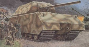 DRAGON 6007 - 1:35 Super Tank Maus