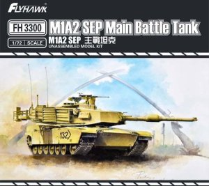 FLYHAWK 3300 - 1:72 M1A2 SEP Main Battle Tank
