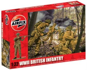 AIRFIX 02718 - 1:32 British Infantry