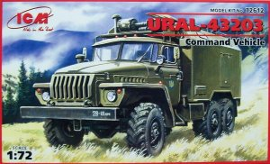 ICM 72612 - 1:72 Ural 43203, Command Vehicle