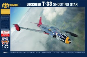 TANMODEL 2905 - 1:72 Lockheed T-33 Shooting Star