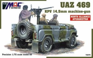 MAC 72078 - 1:72 UAZ 469 with KPV 14,5 mm machine-gun