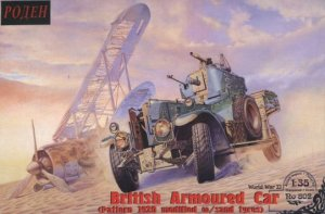 RODEN 802 - 1:35 RR British Armored Car (1920 Pattern Mk.1)