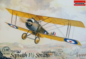 RODEN 404 - 1:48 Sopwith 1 1/2 Strutter single seats bomber