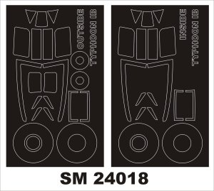 MONTEX SM24018 - 1:24 Typhoon Ib  Car Door