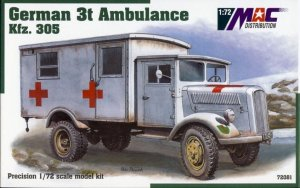 MAC 72081 - 1:72 German Kfz.305 3t Ambulance