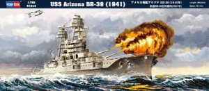 HOBBY BOSS 83401 - 1:700 USS Arizona BB-39 (1941)