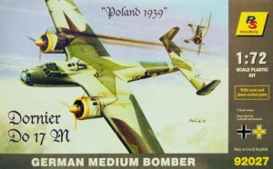 RS MODELS 92027 - 1:72 Dornier Do 17 - Poland 1939
