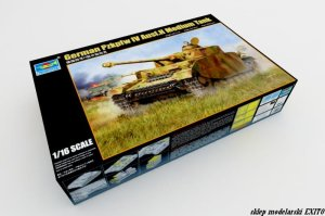TRUMPETER 00920 - 1:16 German Pz.Kpfw IV Ausf.H Medium Tank