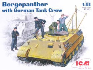 ICM 35342 - 1:35 Bergepanther with German Tank Crew
