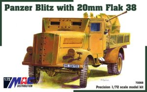 MAC 72068 - 1:72 Panzer Blitz with 20mm Flak 38