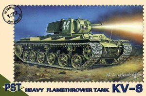 PST 72015 - 1:72 KV-8 Heavy Flame-thrower Tank