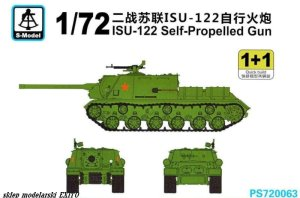 S-MODEL PS720063 - 1:72 ISU-122 Self-Propelled Gun