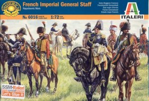ITALERI 6016 - 1:72 French Imperial General Staff