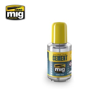 AMMO MIG 2025 - Extra Thin Cement 30 ml