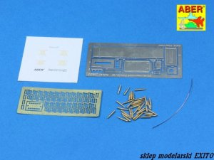 ABER 16047 - 1:16 U.S. M2 Machine Gun 50 cal. Ammunition with M2A1 box set
