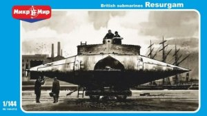 MIKROMIR 144012 - 1:144 British Submarine Resurgam