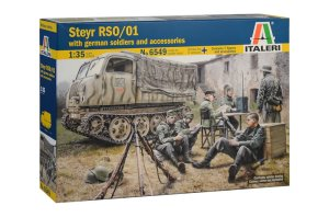ITALERI 6549 - 1:35 Steyr RSO/01 with German soldiers