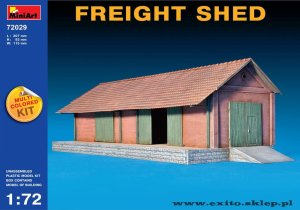MINIART 72029 - 1:72 Freight Shed - multicolored kit
