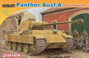 DRAGON 7499 - 1:72 Sd.Kfz.171 Panther A Early Production