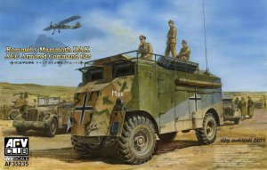 AFV CLUB 35235 - 1:35 Rommels Mammoth DAK AEC Armored Command Car