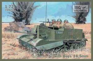 IBG 72026 - 1:72 Universal Carrier I Mk.I with Boys AT Rifle