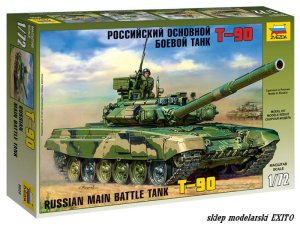 ZVEZDA 5020 - 1:72 T-90 Russian Main Battle Tank