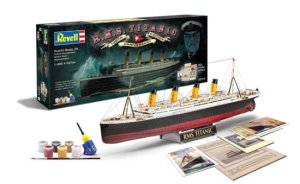 REVELL 05715 - 1:400 R.M.S. Titanic 100th Anniversary Edition set