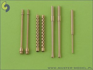 MASTER AM-32-006 - 1:32 A6M5 Zero armament set (7,7mm, 20mm gun barrels) and Pitot tube