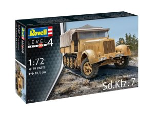 REVELL 03263 - 1:72 Sd.Kfz. 7 (Late Production)