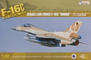 KINETIC 48012 - 1:48 F-16C Block 40 IDF Baraka single