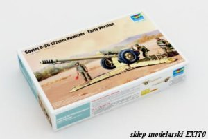 TRUMPETER 02328 - 1:35 Soviet D-30 122mm Howitzer - Early Version