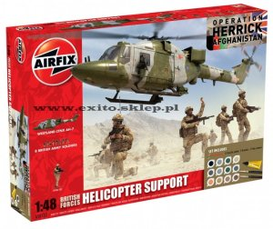 AIRFIX 50122 - 1:48 British Forces Helicopter Support - Afghanistan (Gift Set)