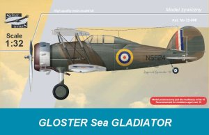 SILVER WINGS 32006 - 1:32 Gloster Sea Gladiator