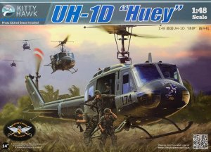 KITTY HAWK 80154 - 1:48 UH-1D Huey