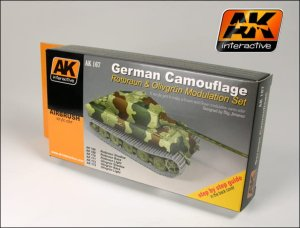 AK INTERACTIVE 167 - German Green & Brown Modulation Set