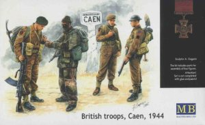 MASTER BOX 3512 - 1:35 British commandos Caen 1944