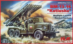 ICM 72571 - 1:72 BM-13-16 Katyusha Multiple Launch Rocket System on ZiL-157 base