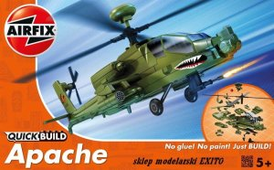 AIRFIX J6004 -  Apache Helicopter - Quick Build