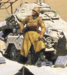 M-MODEL 35017 - 1:35 Deutsche Afrika Korps Motorcyclist