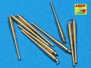 ABER 1:700L-11  - 1:700 Set of 9 pcs 406 mm long barrels for ships: North Carolina, Washington