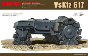 MENG MODEL SS001 - 1:35 VsKfz 617 Mine Clearer